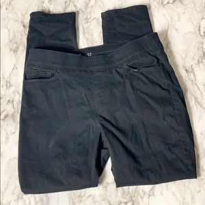 Levi's Pull On Jegging Skinny Black Size 12
